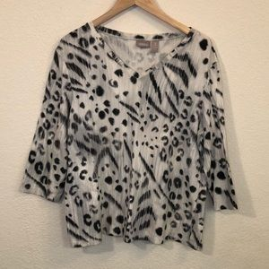 Women's Chico's 3QTR Sleeve Top